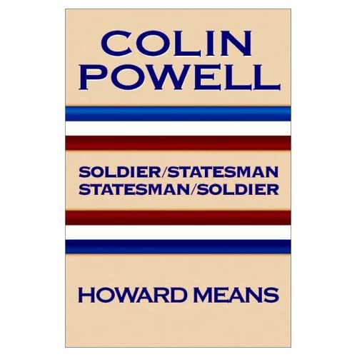 Image 0 of Colin Powell: Soldier/Statesman Statesman/Soldier By Howard Means On Audio Casse