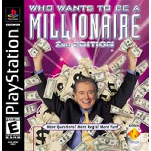 Image 0 of Who Wants To Be A Millionaire 2nd Edition For PlayStation 1 PS1 Trivia