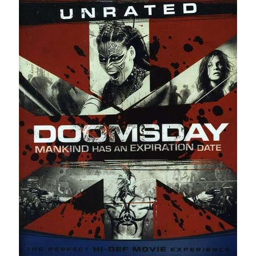 Image 0 of Doomsday Blu-Ray On Blu-Ray With Rhona Mitra