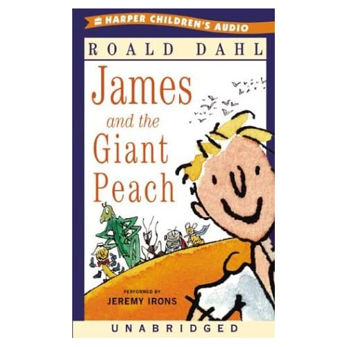 Image 0 of James And The Giant Peach By Roald Dahl And Jeremy Irons Reader On Audio Cassett