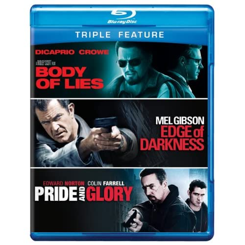 Body Of Lies / Edge Of Darkness / Pride And Glory Bd 3FE Blu-Ray On Blu-Ray