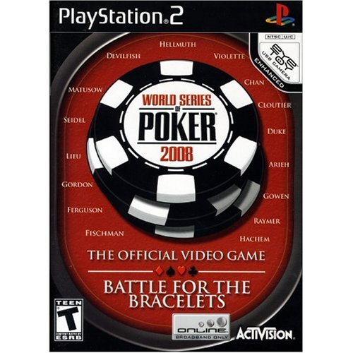 Image 0 of World Series Of Poker 2008: Battle For The Bracelets For PlayStation 2 PS2