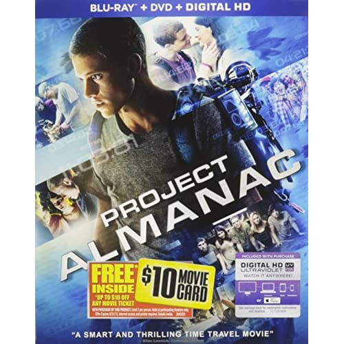 Image 0 of Project Almanac Blu-Ray On Blu-Ray With Sam Lerner