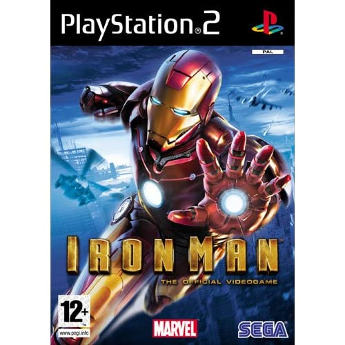 Image 0 of Iron Man For PlayStation 2 PS2 Fighting