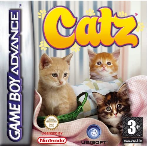 Catz GBA For GBA Gameboy Advance
