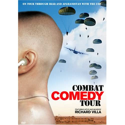 Image 0 of Combat Comedy Tour On DVD