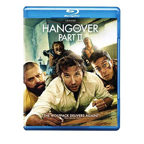 Image 0 of Hangover Part II The Rpkg/bd Blu-Ray On Blu-Ray With Bradley Cooper Comedy