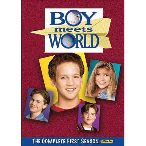 Image 0 of Boy Meets World: Season 1 On DVD With Ben Savage Comedy