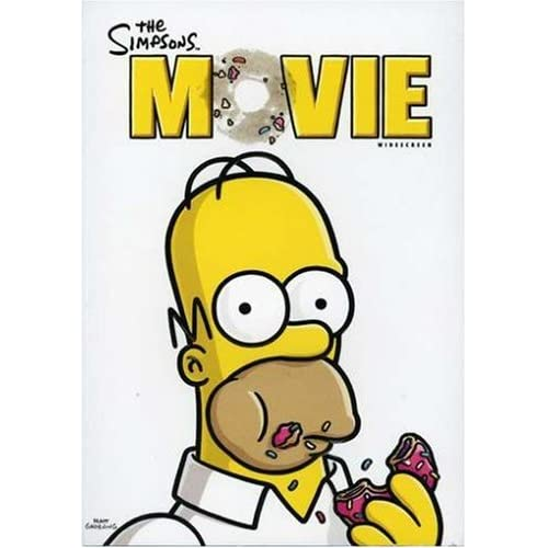 Image 0 of The Simpsons Movie Widescreen Edition On DVD With Dan Castellaneta