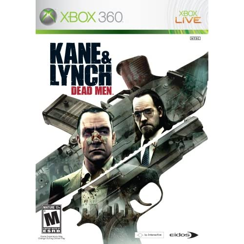 Kane And Lynch: Dead Men For Xbox 360 Shooter