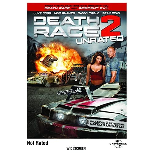 Image 0 of Death Race 2 Unrated Edition On DVD With Danny Trejo