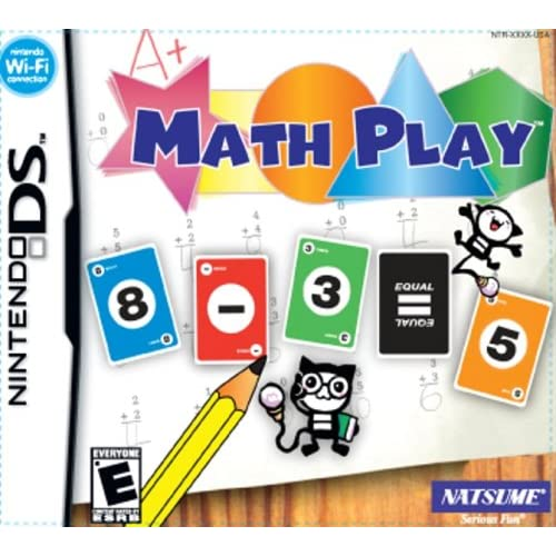 Image 0 of Math Play For Nintendo DS DSi 3DS 2DS Puzzle