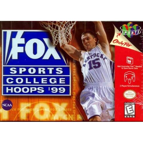 Image 0 of Fox Sports College Hoops '99 For N64 Nintendo