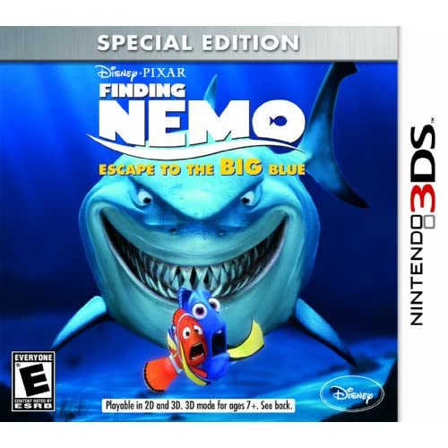 Finding Nemo: Escape To The Big Blue Special Edition Nintendo For 3DS Disney