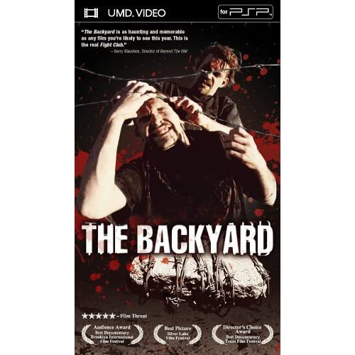 Image 0 of The Backyard UMD For PSP By Rob Van Dam