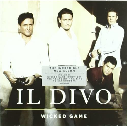 Wicked game by il divo on audio cd album 2011 for Il divo cd