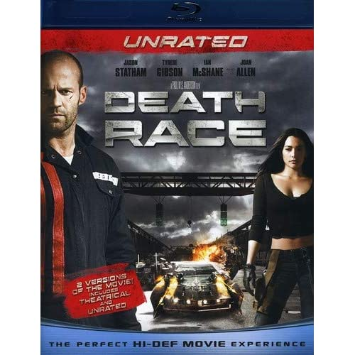 Image 0 of Death Race Unrated Blu-Ray On Blu-Ray With Jason Statham