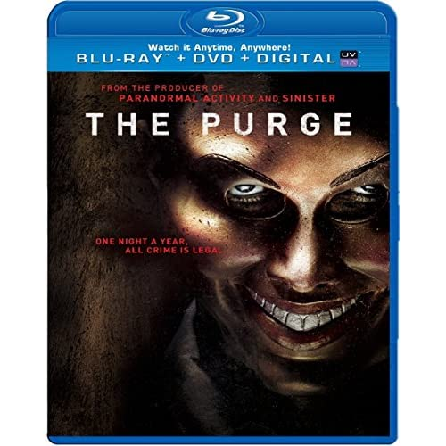 Image 0 of The Purge Blu-Ray On Blu-Ray With Ethan Hawke Horror