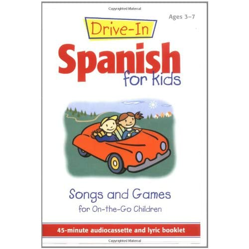Image 0 of Drive-In Spanish For Kids: Songs And Games For On-The-Go Children Drive-In Audio