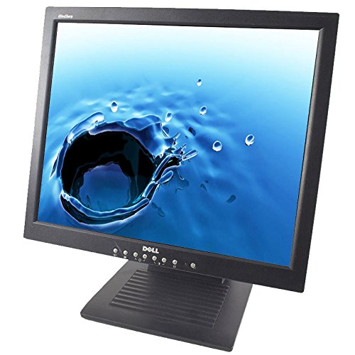 Dell 1800FP Black 18 Inch Screen 1280 X 1024 Resolution LCD Flat Panel Monitor