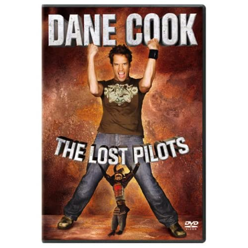 Image 0 of Dane Cook The Lost Pilots On DVD with Justine Bateman Comedy