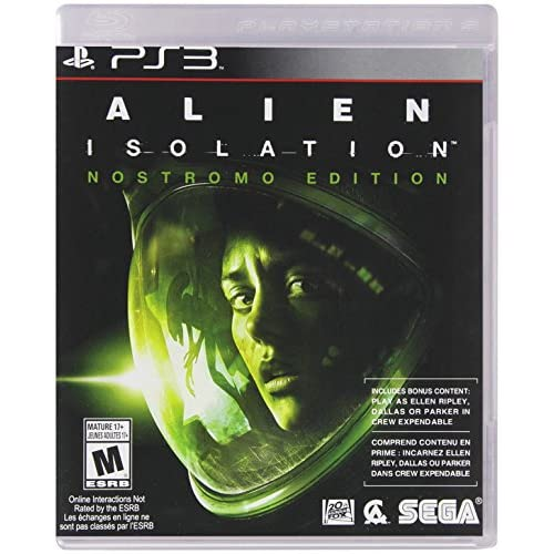 Alien: Isolation PlayStation 3 Nostromo Edition For PlayStation 3 PS3