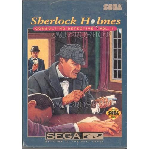 Sherlock Holmes: Consulting Detective Volume 2 Sega CD For Sega CD