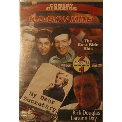 Image 0 of Kid Dynamite/ My Dear Secretary On DVD With Kirk Douglas