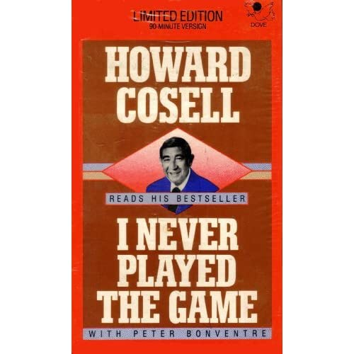 Image 0 of I Never Played The Game By Howard Cosell Peter Bonventre Howard Cossell Reader O