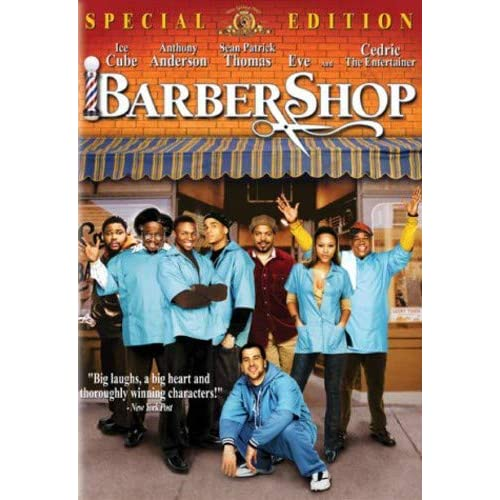 Image 0 of Barbershop Special Edition On DVD With Ice Cube Comedy