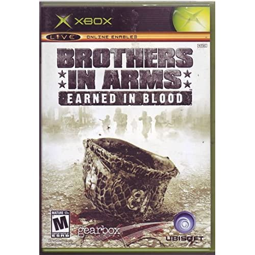 Brothers In Arms Earned In Blood Xbox For Xbox Original Shooter