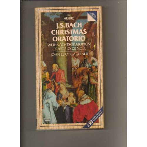 Image 0 of Christmas Oratorio By Gardiner/ebs On Audio Cassette