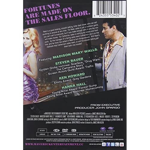Image 2 of Numbers Game On DVD With Madison Walls