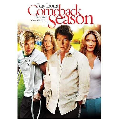Image 0 of Comeback Season On DVD with Ray Liotta Comedy