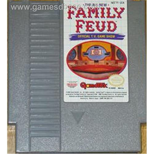 Image 0 of Family Feud Nintendo NES For Nintendo NES Vintage