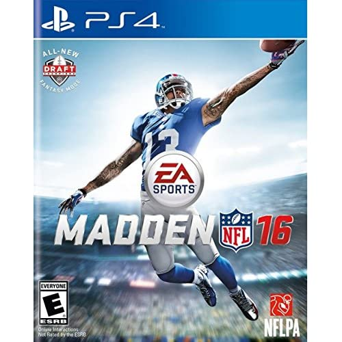 Madden NFL 16 For PlayStation 4 PS4 Football