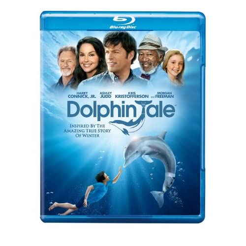 Dolphin Tale Blu-Ray On Blu-Ray With Morgan Freeman