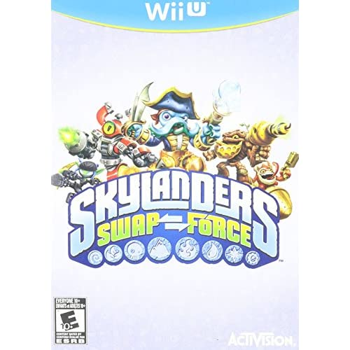 Image 0 of Skylanders Swap Force Game Only For Wii U RPG With Case