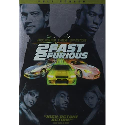 2 Fast 2 Furious Full Screen Edition On DVD With Paul Walker