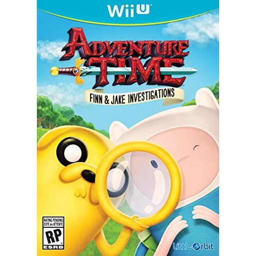 Adventure Time Finn And Jake Investigations For Wii U