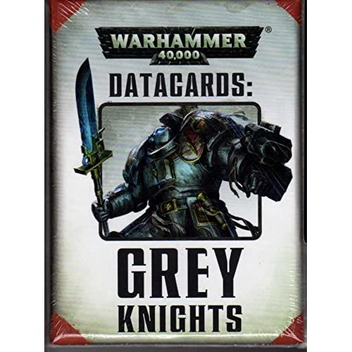 Image 0 of Warhammer 40000 Datacards: Grey Knights TCG Gray 40K