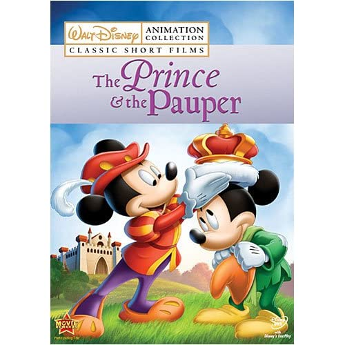 Disney Animation Collection Volume 3: The Prince And The Pauper On Blu