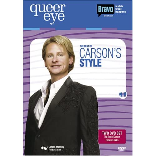 Image 0 of Queer Eye For The Straight Guy The Best Of Carson's Style On DVD with