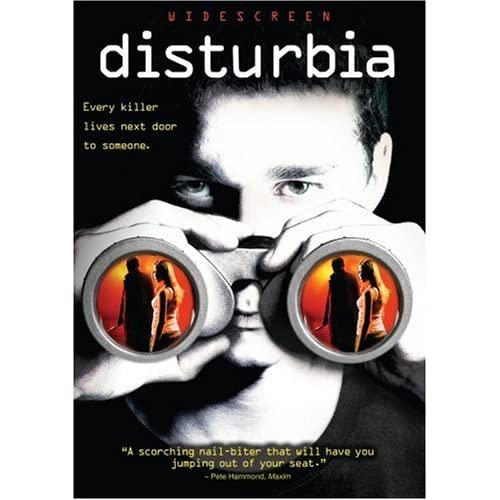 Image 0 of Disturbia Widescreen Edition On DVD With Shia Labeouf Drama