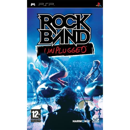 Image 0 of Rock Band Unplugged Game For PSP
