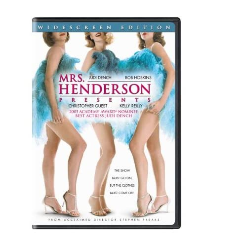 Image 0 of Mrs Henderson Presents Widescreen Edition On DVD with Judi Dench