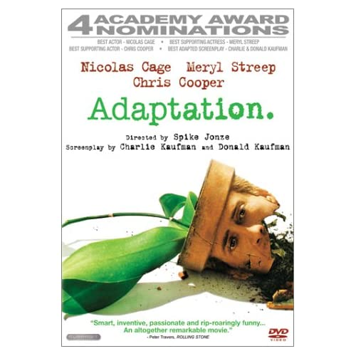 Adaptation Superbit Collection On DVD With Maggie Gyllenhaal