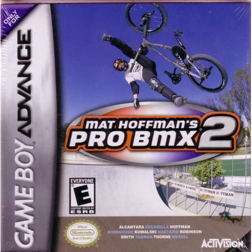 Mat Hoffman's Pro BMX 2 For GBA Gameboy Advance
