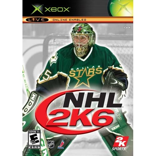 NHL 2K6 Xbox For Xbox Original Hockey With Manual and Case