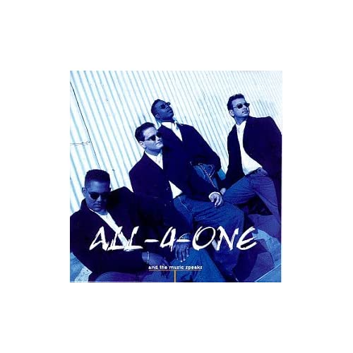 Image 0 of And The Music Speaks By ALL-4-ONE Album 1995 On Audio CD